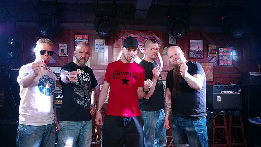 芬兰激流金属乐队Dead Shape Figure